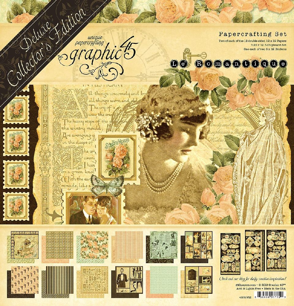 Graphic 45 Le Romantique Deluxe Collector''s Edition