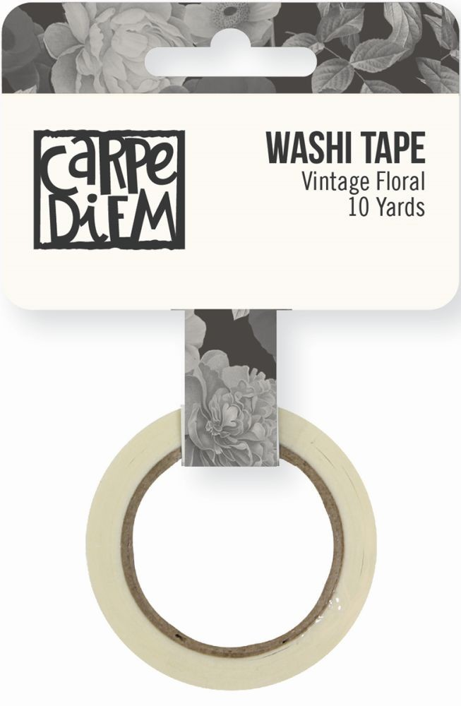 Simple Stories Carpe Diem - Beautiful Vintage Floral Washi Tape