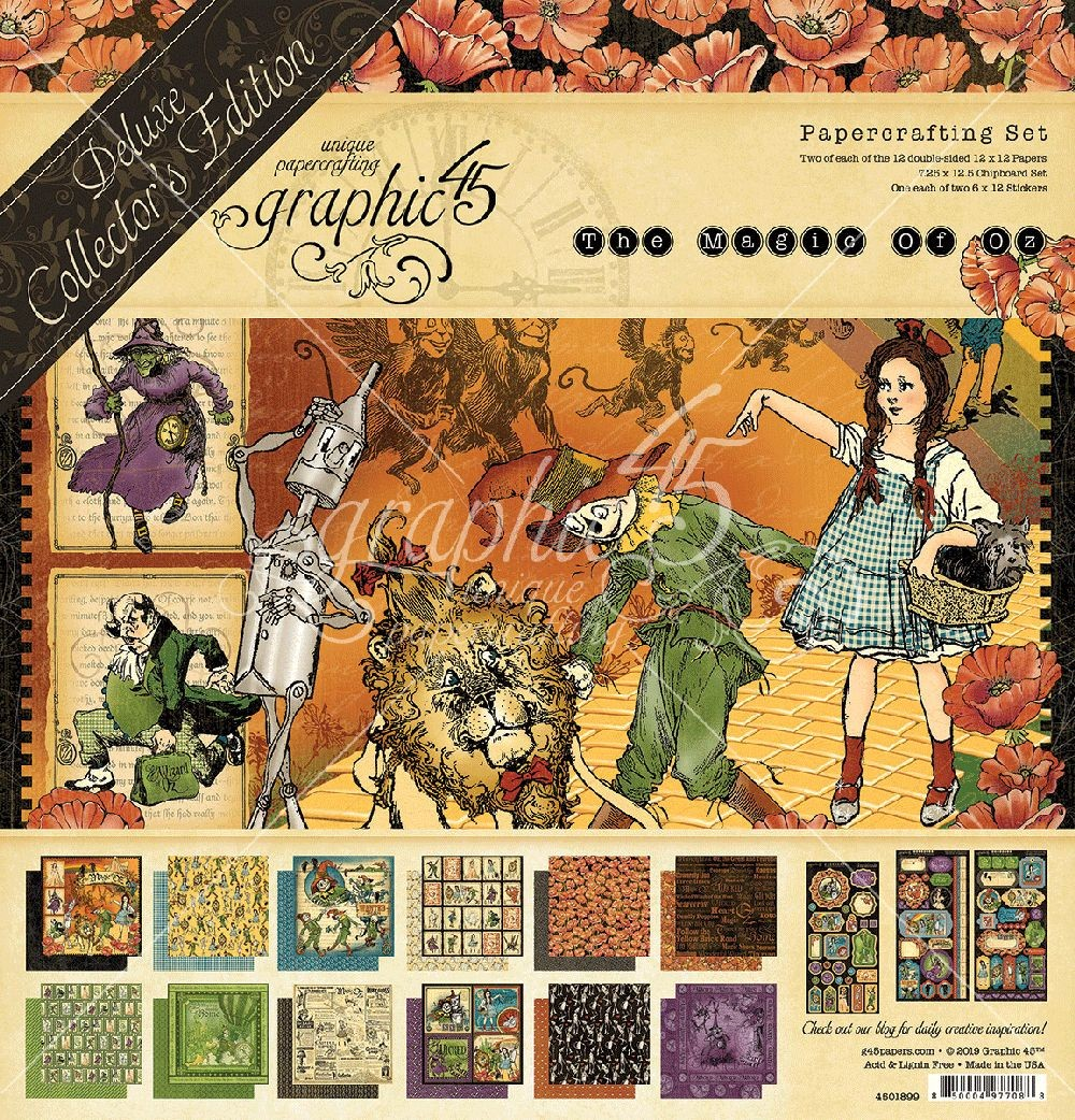 Graphic 45 Magic of Oz Deluxe Collector's Edition